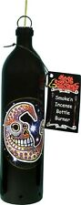 Day of the Dead Moon Beam Smoking Bottle Incense Burner-Ashcatcher Made in Usa