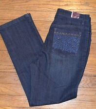 Gloria Vanderbilt Amanda Stretch Jean Heritage Fit Tapered Leg Size 8P 10P