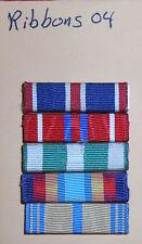 ribbons04 group of 5 US military ribbons