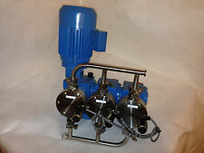 LEWA EEK 0090 S13 Diapharm Metering Pump with Siemens 1 LA5083-4AA12-Z Motor