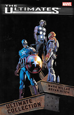 Ultimates and Ultimates 2 by Mark Millar & Bryan Hitch Ultimate Collection TPBs