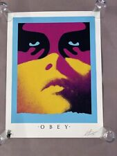 """Shepard Fairey """" SHADOWPLAY """" (Paris Version) Print - OBEY Edition of 500 Signed"""