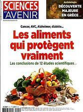 SCIENCES ET AVENIR N°811 SEPTEMBRE 2014  ALIMENTS PROTECTEURS/ AMPHIPOLIS/ LUNE