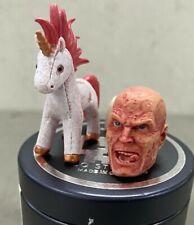 CQ-DPH-MEZ: CQ Studio unmask head with Unicorn for Mezco One:12 Deadpool