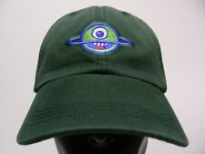 LAUGHING PLANET CAFE - FADED STYLE ADJUSTABLE STRAPBACK BALL CAP HAT