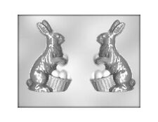 Bunny with Basket 3D / Easter Bunny / Rabbit Chocolate Mould