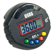 USAG 831 A - Digital angle meter [scale: 0 - 360°, resolution: 0,1°, LxPxH mm: 6