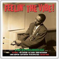 FEELIN' THE VIBE feat. VICTOR FELDMAN, FRANK WESS, GARY BURTON, u.a. 3 CD NEU