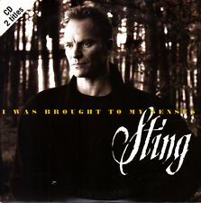 STING - I WAS BROUGHT TO MY SENSES CD SINGLE 2 TRACKS 1996 MINT