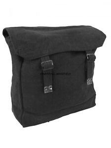BACK PACK Military Webbing Large Web work snap bag, vintage retro Olive or Black