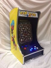 "Ms PacMan Galaga Mini 19"" Full Size Monitor Upright Arcade Game Multicade BarTop"