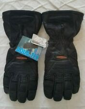 Harley Davidson Heated Gloves - NEW - SIze XS - Black Leather - NO CHARGER