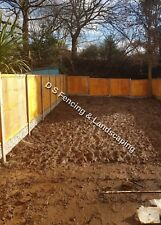 fencing and driveways