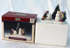 Vintage Original Box LEMAX Porcelain FROSTY FUN Accessories #63175