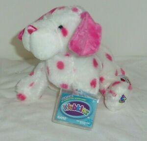 Pink Dalmatian Dog 9in Webkinz new w/ sealed unused code MWMT new HM673