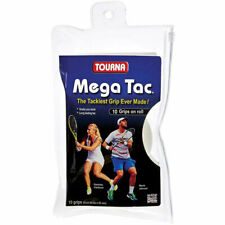 TOURNA Mega Tac Overgrip 10 Pack White