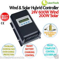 NEW 800W 24V Charge Controller/Regulator for Wind Turbine & Solar Panel Hybrid