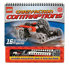 Lego Crazy Action Contraptions Activity Book (Klutz) 16 projects models to make!