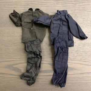 2pcs 1/6 Uniform For GI JOE 21st Century Ultimate Soldier 12'' Dragon Toy Figure