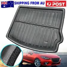 Cargo Boot Liner Rear Trunk Mat Tray Floor Carpet For Mazda 3 14-18 Axela Hatch