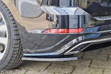 Ingo Noak Diffusor Seitenteile Heckansatz Satz aus ABS für VW Touran 5T R-Line