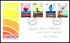 FDC - G.B. 1978 Energy - First Day Cover.