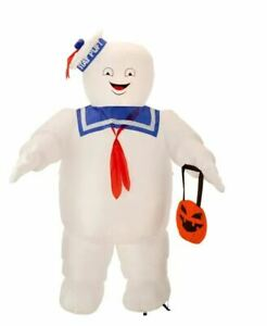 HALLOWEEN GHOSTBUSTERS STAY PUFT MARSHMALLOW MAN INFLATABLE AIRBLOWN 10 FT