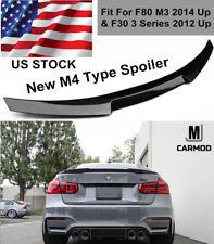 Fit For BMW F30 325i 328i 320i 340i CARBON FIBER M4 TYPE TRUNK HIGH KICK SPOILER