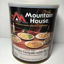 Mountain House Freeze Dried Chicken Teriyaki with Rice, 9 Delicious Servings