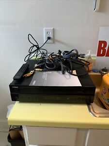 Yamaha CDC-697 5-Disc Carousel CD DISC Changer Player W/ Remote & Manual Cords!