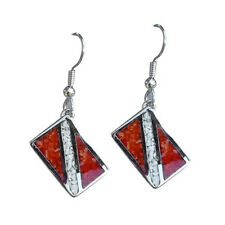 Dive Flag Earrings Scuba Diving Diver Jewelry GP7175