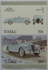 1954 SUNBEAM ALPINE Car Stamps (Leaders of the World / Auto 100)
