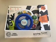 Baby Einstein Musical Toy Driving Tunes  English Francais Espanol Steering Wheel