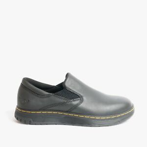 Dr Martens BROCKLEY Unisex Womens Mens Work Safety Outdoor Leather Shoes Black