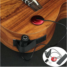 Piezo Microphone Pickup Contact Mic Black & Red