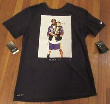 Nike Kobe Bryant Trophy Retirement Dri-Fit T-Shirt Tee Size Large Black GOAT NWT