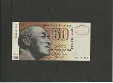 50 Markkaa Finland VF+ 1986