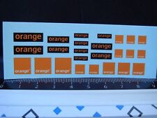 DECALS 1/43 TELEPHONE INTERNET GROUPE ORANGE - T397
