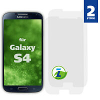 2x Panzerfolie für Samsung Galaxy S4 Displayschutzfolie Schutz Folie Panzer Glas