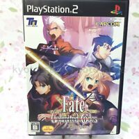 USED PS2 PlayStation 2 Fate Unlimited Codes 26727 JAPAN IMPORT