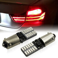 Stop Light 1157 2357 #B42 2x Brilliant Red 42-SMD LED Bulbs For Tail Brake