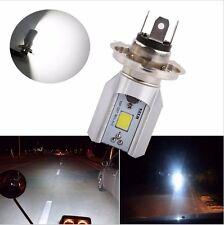 H4 LED Motorcycle Headlights HS1 Bike Fog Lamp Bulb Light Scooter ATV DC12V