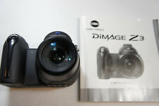 Konica Minolta Dimage Z3 4MP Digital Camera with Manual Only