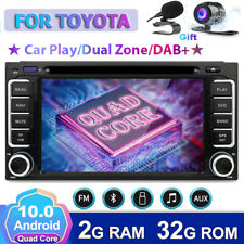 Car Stereo For Toyota Hilux Prado RAV4 Corolla Android10 GPS Head unit DVDCD OBD