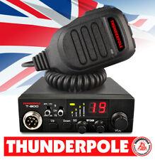 Thunderpole T-800 12v CB Radio | 27 MHz AM/FM transmisor-receptor de 12 voltios móvil