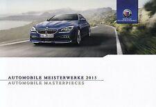 BMW ALPINA D3 D4 B3 B4 Coupe Cabrio D5 B5 B6 B7 Hochglanz Prospekt 2015 ++++++++