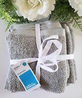"Room Essentials 100% Cotton Solid Peach Washcloths 6 Pack 12 x 12"""