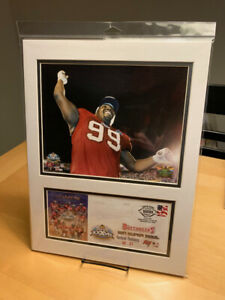 Warren Sapp Tampa Bay Buccaneers Super Bowl XXXVII 12x16 Photo & Event Cover