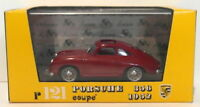 Brumm Models 1/43 Scale Diecast R121 - 1952 Porsche 356 Coupe - Red