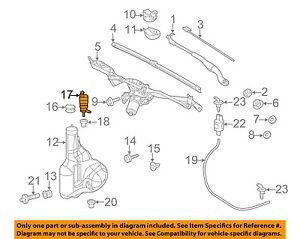 Mercedes MERCEDES-BENZ OEM E350 Windhsield Wiper-Washer Fluid Pump 2218690121